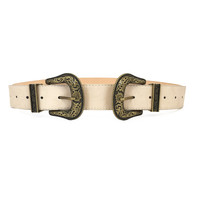 Life Of The Party Belt In Cream