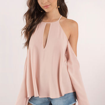Goldiie Bell Sleeve Blouse