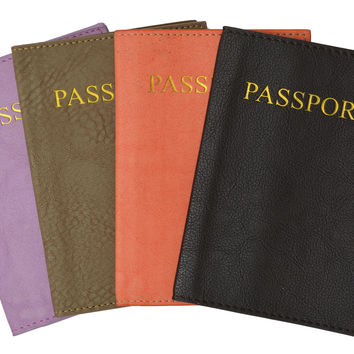 Passport Cover Holder for Travel 151 PU (C)
