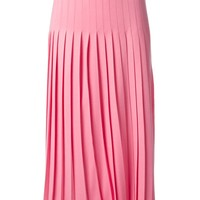 Vionnet pleated knit skirt