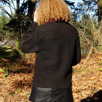 Native, South American, Alpaca, Woven,  Women's Jacket