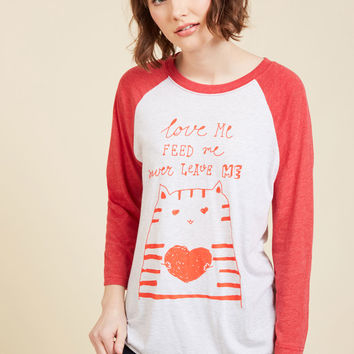 Wants and Kneads Long Sleeve Top | Mod Retro Vintage Sweaters | ModCloth.com
