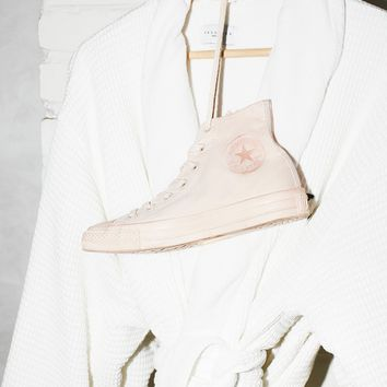 Free People Mono Canvas High Top Sneakers