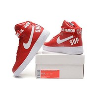 Nike Air Force One 1 High Supreme Sp Af1 Hi Running Sport Casual Shoes