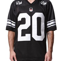 DGK Always 420 Football Jersey - Mens Tee - Black