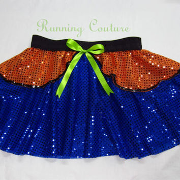 Goofy inspired Sparkle Running Misses round skirt