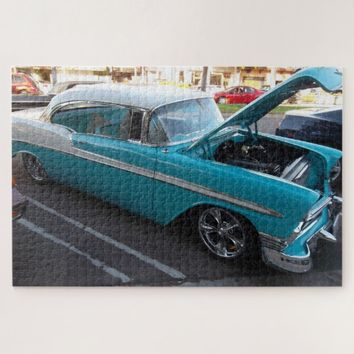 Classic Hot Rod Jigsaw Puzzle