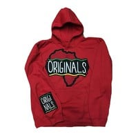 "Originals ""Motherland"" Hoodie ""Red"""