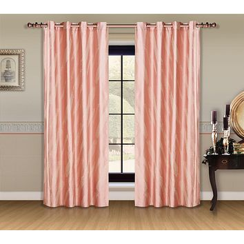 Window Curtains & Drapes Panel, Capri