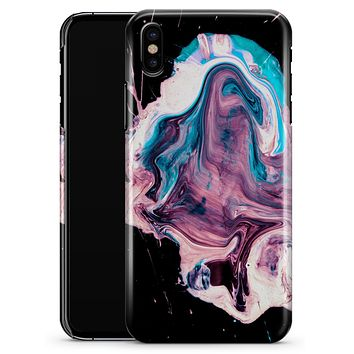 Liquid Abstract Paint V62 - iPhone X Clipit Case