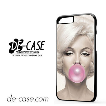 Marilyn Monroe Bubble Gum DEAL-6861 Apple Phonecase Cover For Iphone 6 / 6S