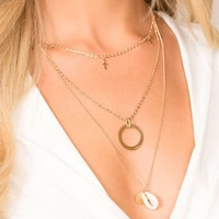 Marine Dream Layered Necklace