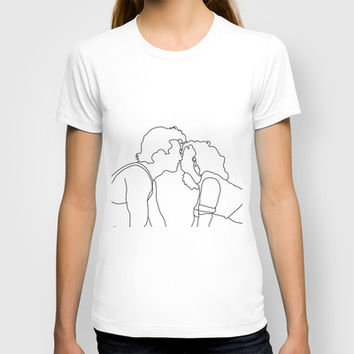 Dirty Dancing // Johnny and Baby T-shirt by Bethany Mallick