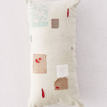 Lucia Patched Body Pillow | Urban Outfitters