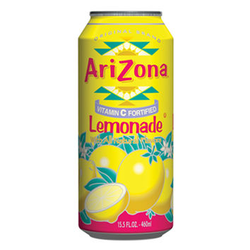 Arizona Lemonade 15.5 Oz Can Pack of 24
