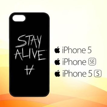 Twenty One Pilots Stay Alive X4419  iPhone 5|5S|SE Case