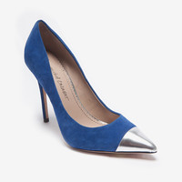 Jean-Michel Cazabat EXCLUSIVE Metal Toe Stiletto Pump-Just In-Exclusives-Categories- IntermixOnline.com