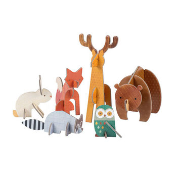 Woodland Pop Out Figurines