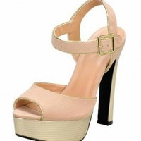 LIGHT-PINK OPEN TOE LADYLIKE SANDAL @ KiwiLook fashion