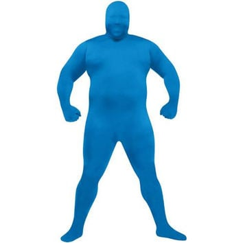 Costume Morphsuit: Adult Skin Suit (FW-65) | Blue