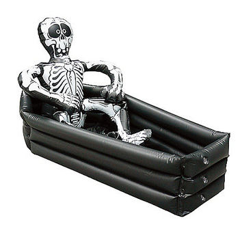 inflatable coffin cooler spirithalloweencom