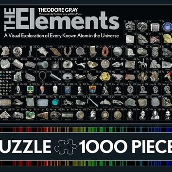 Elements Puzzle: 1000 Pieces