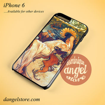 Alphonse Mucha 2 Phone case for iPhone 6 and another iPhone devices
