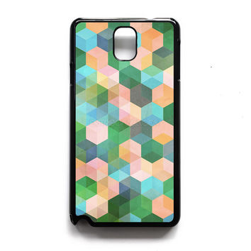 hexagon pattern in mint green Samsung Case, iPhone 4s 5s 5c 6s Plus Cases, iPod 4 5 6 case, HTC One case, Sony Xperia case, LG case, Nexus case, iPad case