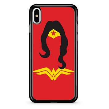 Wonder Woman Red iPhone X Case