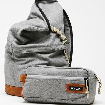 RVCA Camden School Backpack - Mens Backpacks - Grey - NOSZ