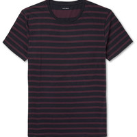 Club Monaco - Striped Cotton-Jersey T-Shirt | MR PORTER