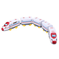 Small Electric Toy Train Set Mini Harmony Emu Section Toys for Children Boys Kids Toys Jugetes Para Ninos