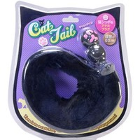 Cat Tail -- Black ~ Cat Type Anal Plug