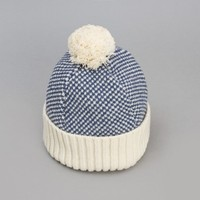 Universal Works Bobble Hat (Aran Honeycomb) | Oi Polloi