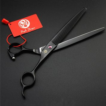 7.5 Inch Professional Pet Grooming Scissors Dog Cat Tesoura Pets Grooming Thinning Shears Scissors Japan 440C High Quality