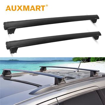 Auxmart Roof Rack Cross Bar for Jeep Grand Cherokee 2011~2018 Roof Racks Rails with Anti-theft Lock Offroad Load Cargo Carrier