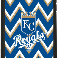 Kansas City Royals - Sketchy Chevron Customizable Personalized Case