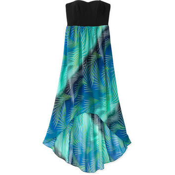 Walmart: No Boundaries Juniors Strapless Hi-Low Dress