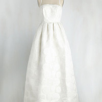 Where There's Life, There's Elope Dress in Ivory