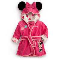 Disney Minnie Mouse Bath Robe for Baby - Personalizable | Disney Store