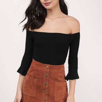 Reese Off Shoulder Bodysuit