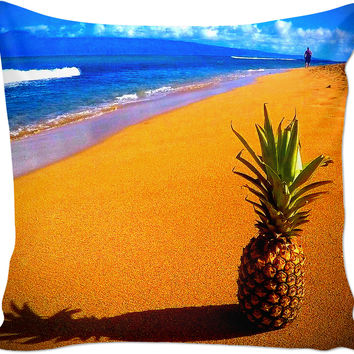 Pineapple Beach Couch Pillow
