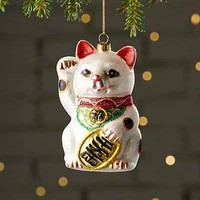 Lucky Cat Ornament - Urban Outfitters