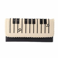 Piano Checkbook Wallet - Punk.com