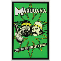 Cheech & Chong - Blacklight Poster