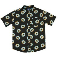 Odd Future Donut All Over S/S Woven Shirt - Men's at CCS