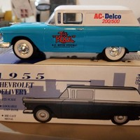 1955 Chevrolet Delivery w/the ROCK/AC-Delco on the 1:25 Die Cast Bank