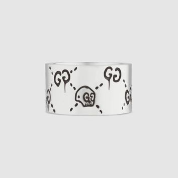 Gucci - GucciGhost ring in silver