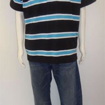 Men Polo Striped T-shirt