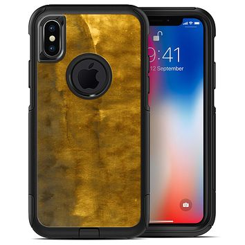 Vintage Stained Gold Book Cover - iPhone X OtterBox Case & Skin Kits